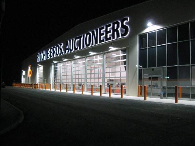 Ritchie Bros. Auctioneers sede di Caorso (PC)